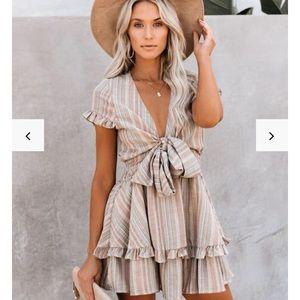 Sandcastle Cotton Ruffle Dress